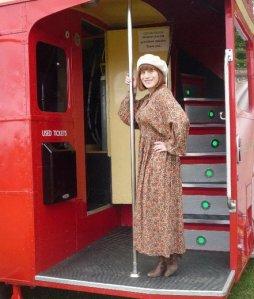 1970s dress for Vintage Festival 2010