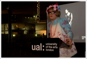Grayson Perry at the University of the Arts, London Benefactors Reception http://newsevents.arts.ac.uk/33207/ual-celebrates-its-creative-future-at-benefactors-reception/