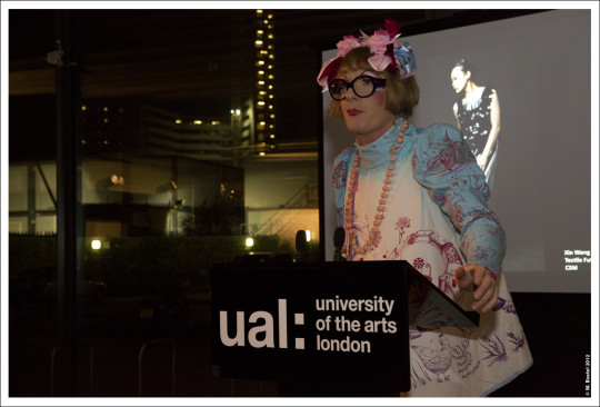 Grayson Perry at the University of the Arts, London Benefactors Reception