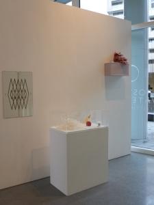Charlotte Jonerheim's work at SURFACE exhibition, Chelsea Futurespace, 2013