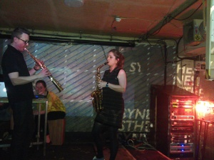 Simon West and Victoria Trinder play an IKTA Live set for SYNESTHESIA I at Notting Hill Arts Club