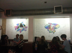 work by Nicky Carvell for En Visage - SYNESTHESIA I at Notting Hill Arts Club