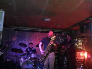 Horseless Headmen play live for SYNESTHESIA I at Notting Hill Arts Club