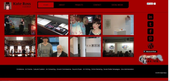 kate Ross Curator - Website