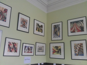a view of a section of the Brook Green Artists 1890-1940 exhibition