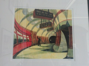 Cyril Power - The Tube Station c.1932