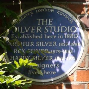 Silver Studio Plaque, 84 Brook Green
