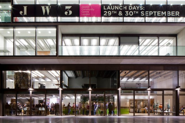JW3 - london's new Jewish Cultural Community Arts Centre