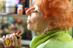 Ilona Royce Smithkin from Advanced Style the film. Image from Dogwood documentary distributor