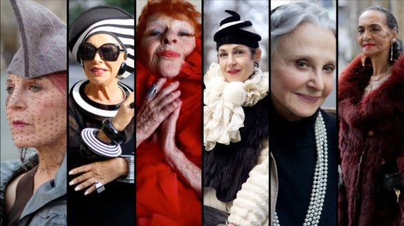 the ladies from Advanced Style - promotional image from Dogwoof  film distributor