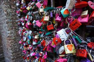 padlocks by Juliet's house