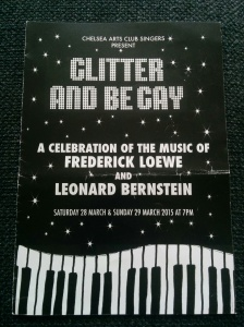 glitter and be gay concert