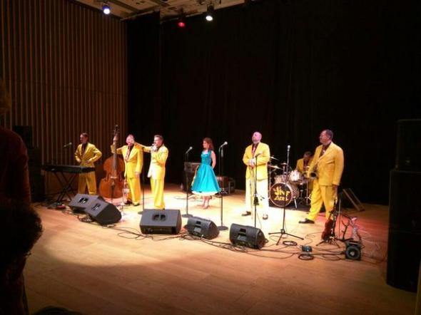 Jive Aces - the UK's number 1 Jive & Swing band who I programmed to play at JW3
