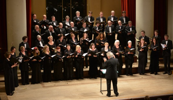 English Chamber Choir which I sing in and am pictured here on the front row. Image from www.englishchamberchoir.com